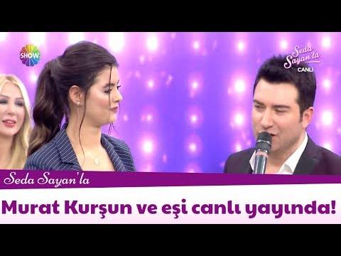 Murat Kurşun ve eşi canlı yayında!