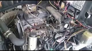 ГАЗ-69 c 1-KZ. Часть 2. Вторая попытка запуска двигателя.
