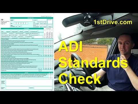 ADI Standards check - complete guide for driving instructors and learner drivers