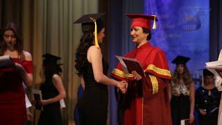 Вручение дипломов магистра