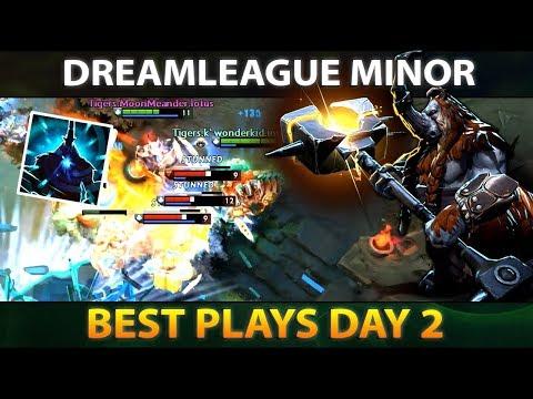 BEST PLAYS - DAY 2 - DreamLeague 10 Minor DOTA 2 thumbnail