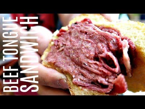 OMG SO JUICY! TORONTO'S KATZ'S DELI - beef tongue & corned beef sandwiches (VLOG 49)