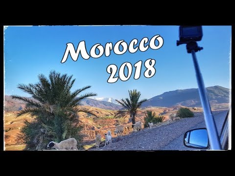 Morocco road trip / Maroko 2018 GoPro