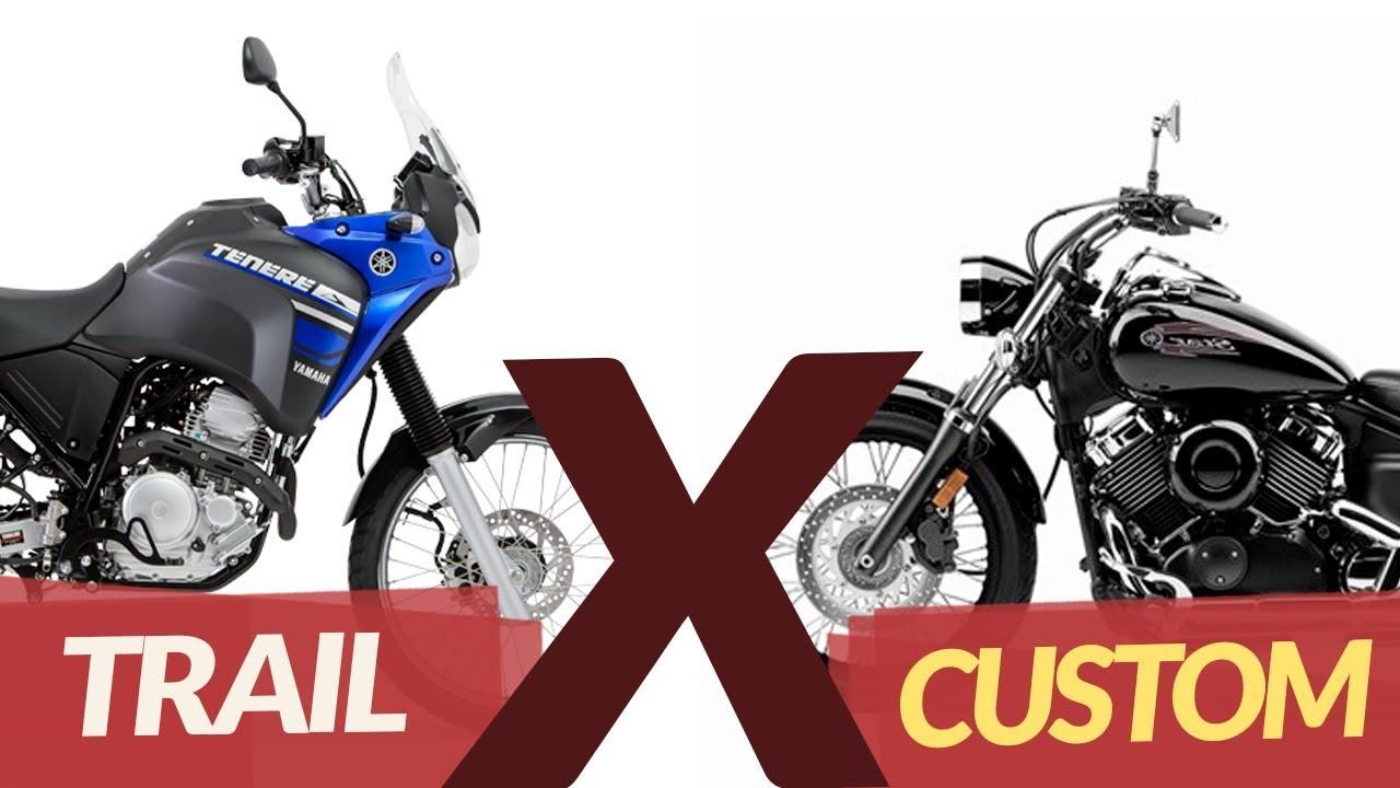 Trail ou Custom? Descubra qual o melhor estilo de moto pra viagens!!!