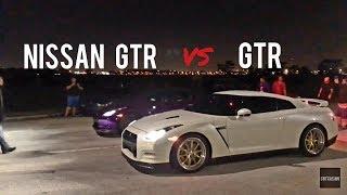 Nissan GTR vs Nissan GTR