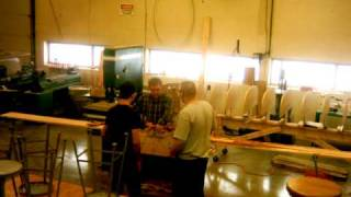 Clio High School Wood Shop Canoe Project Video 2