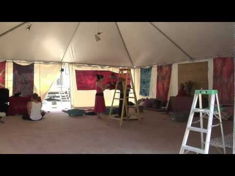 Nirvana Cabana Time Lapse Build and Event View