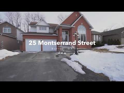 Just Listed For Sale - 25 Montserrand St in Barrie, ON