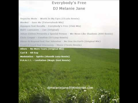 DJ Melanie Jane presents Everybody's Free DJ Mix