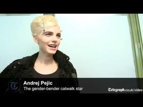 Andrej Pejic: The Gender-bending Catwalk Star