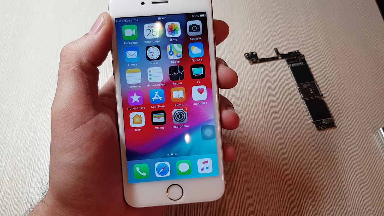 Iphone 6S замена материнской платы с Ali Express/Iphone 6S motherboard replacement.