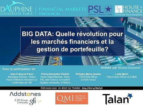 Big Data Is Here : Quelle révolution pour les marchés financiers et la gestion de portefeuille ?