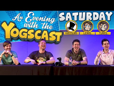 The Yogscast at EGX 2015 Q&A - Lewis and Hat Films!