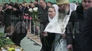Прощание с погибшими под Ханты-Мансийском