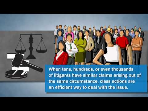 A Business Litigation Attorney in San Diego Explains Class Action Law Suits