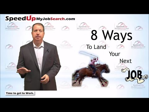 8 Ways to Land Your Next Job Faster than by Applying Online - 9:03