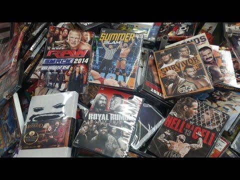 HUGE Walmart WWE DVD Sale Pickups - YouTube