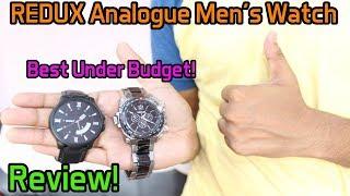 REDUX Analogue Black Dial Men's & Boy's( 2 Watches) | Review