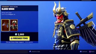 """SHOGUN"" Skin Returns! - Fortnite DAILY ITEM SHOP [January 27] BACKSTROKE DANCE EMOTE!"