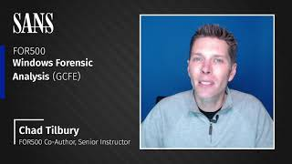 Why take FOR500: Windows Forensic Analysis course OnDemand