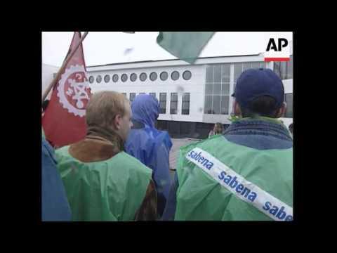 Belgium - Airline Staff Strike