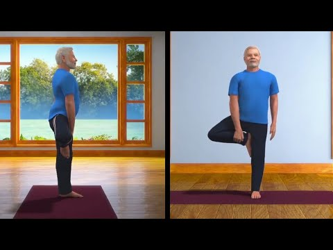 pm modi's animated avatar teaches vrikshasana ahead of