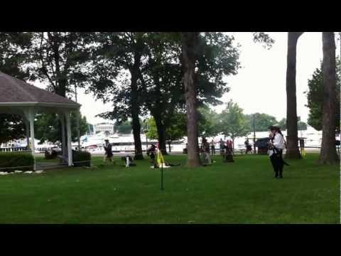 Pirates attack at the Pyrate Fest - Put-in-Bay - 2012