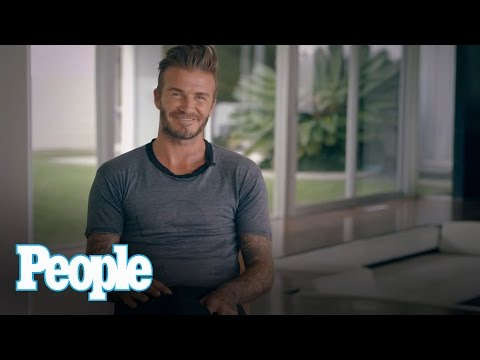 David Beckham Is PEOPLE Magazine's Sexiest Man Alive | People