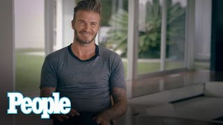 David Beckham Is PEOPLE Magazine