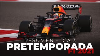 Resumen Día 3 - Pretemporada F1 2021 | Efeuno