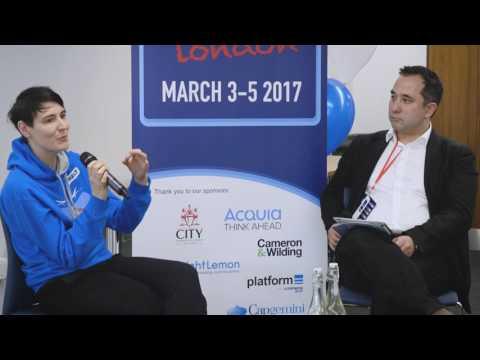 Drupalcamp London 2017 - CXO Day Keynote -  Sarah Wood OBE