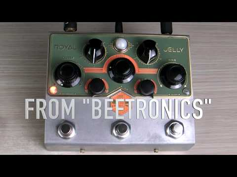 Beetronics Royal Jelly quick video with one chord (1/3).