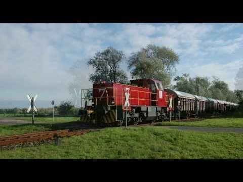 Güterzüge bei der Solvay in Rheinberg