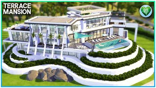 MOST LUXURIOUS MODERN MANSION💎 [NO CC] - Sims 4 Speed Build   Kate Emerald