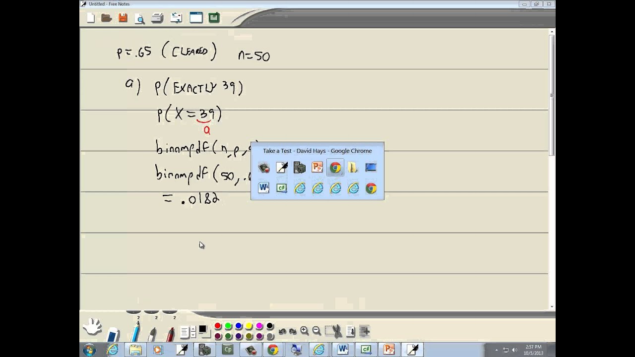 Elementary Statistics - Chapter 6 Test Review - YouTube
