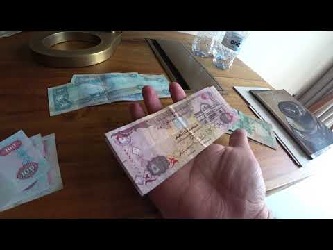 SHOWING THE DUBAI CURRENCY (DIRHAM)