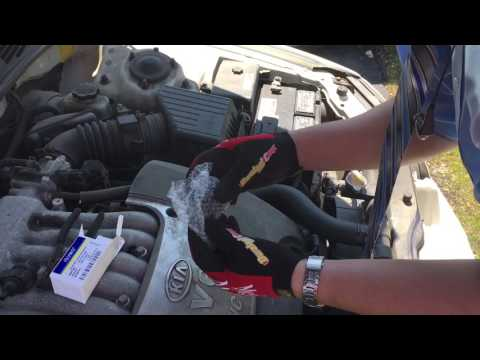 How to replace Canister Purge Valve Kia Optima P0442 P0455 Evap emission system leak codes