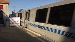 BART Pleasant Hill Contra Costa Centre Station Walnut Creek California Bay Area Rapid Transit