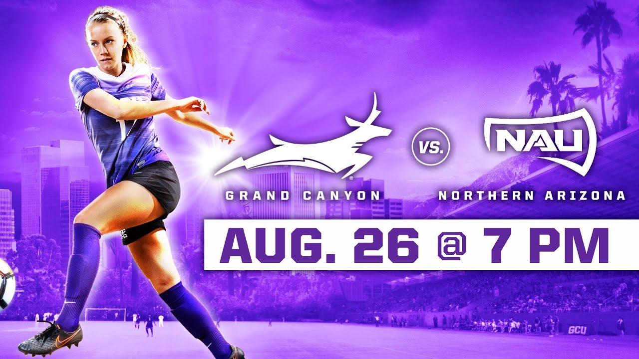 GCU Women's Soccer vs. NAU Aug 26, 2018