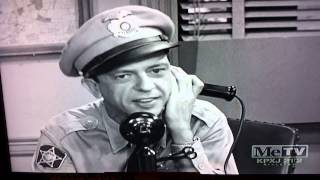 Andy Griffith - tight lipped Barney & the gold trk