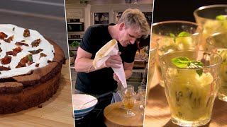 I Tested Gordon Ramsay&#39s Favorite Desserts- Mint Chocolate Cake, Lemon Granita, Apple Pies