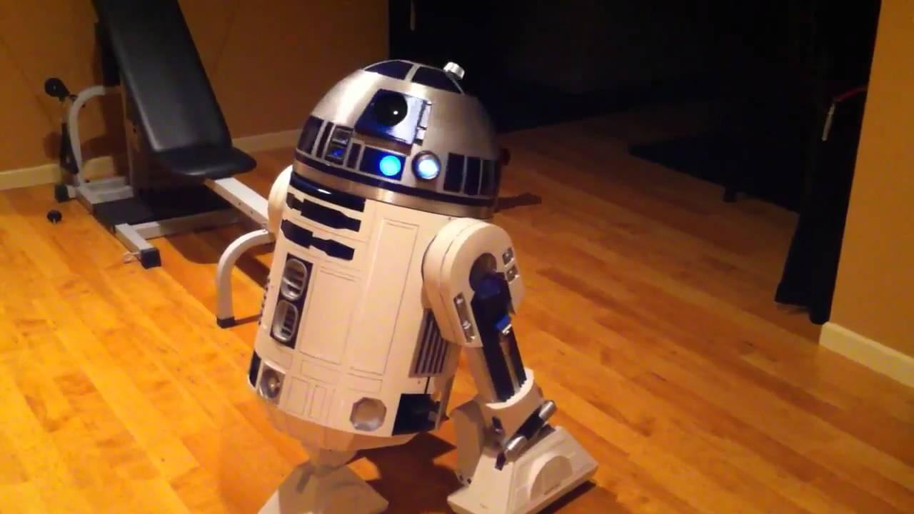 Full Size R2-D2 Fully Functional - YouTube
