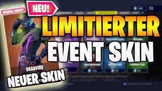 NOUVEAU DEADFIRE EVENT SKIN 🔥😱 Aujourd'hui New Fortnite Shop 24.10 Boutique spéciale d'articles Fortnitemares 🛒