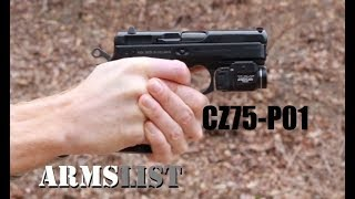 Everything you need to know about the CZ75 P01, 9mm
