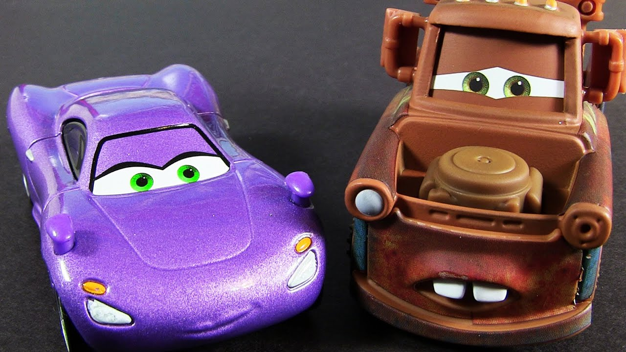 Airport Mater Amp Holley Shiftwell 2013 Movie Moments 2 Pack