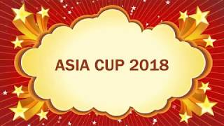 Asia Cup 2018 || Asia Cup 2018 Schedule & Time Table