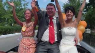 Свадьба на кабриолете в Сибае