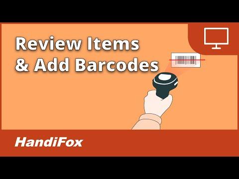 HandiFox - Barcode Inventory Software