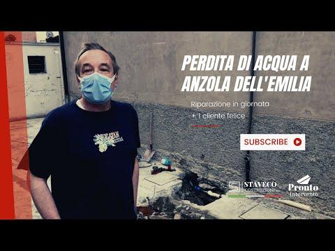 Perdita di Acqua a Anzola Dell'Emilia