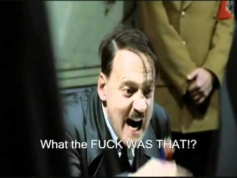 Hitler watches The Room